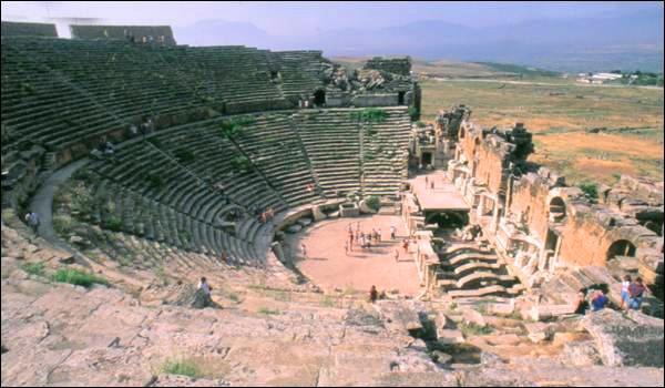 Denizli Pamukkale Travertenleri ve Hierapolis Antik Kenti 16
